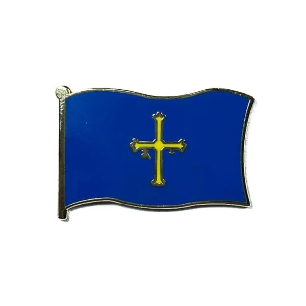 pin bandera asturias