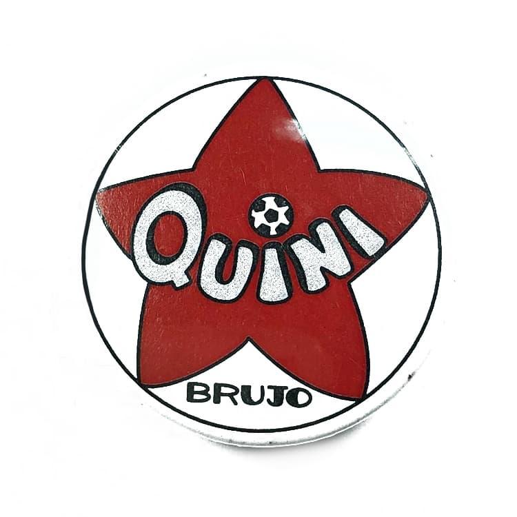 , CHAPA FUTBOL – QUINI EL BRUJO SPORTING GIJON