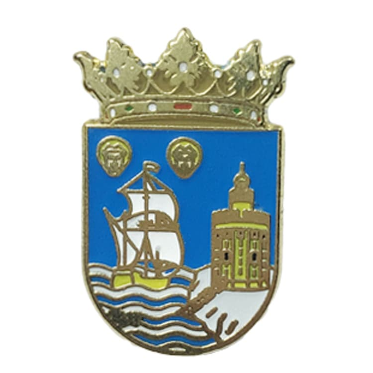 Santander Pin