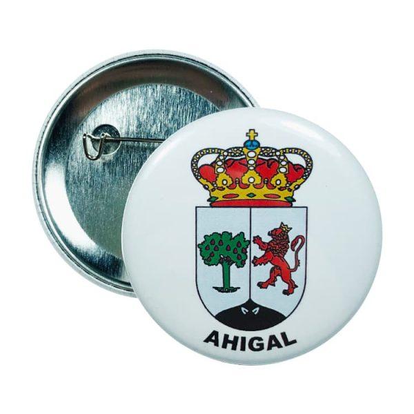 chapa escudo ahigal