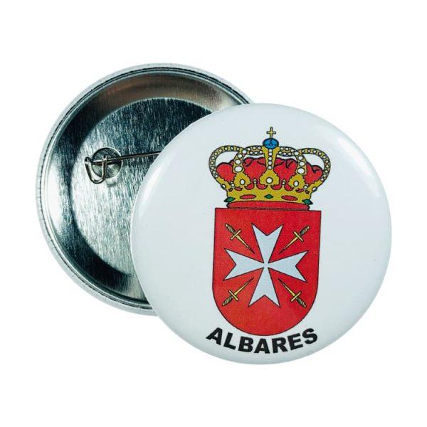 chapa escudo albares