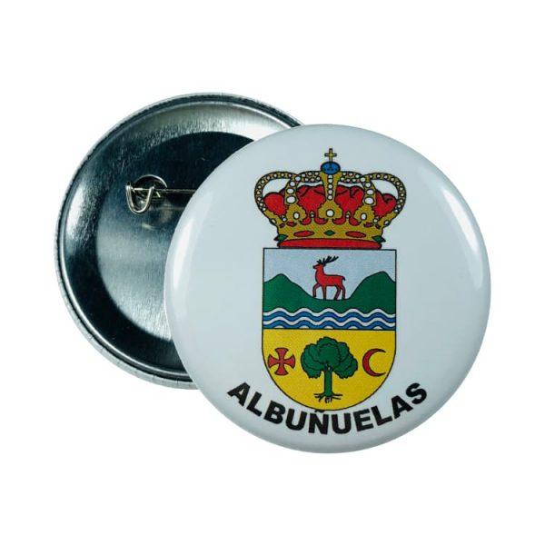 chapa escudo albunuelas
