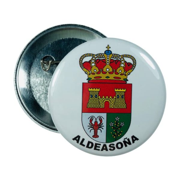 chapa escudo aldeasona