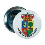chapa escudo alfoz de santa gadea