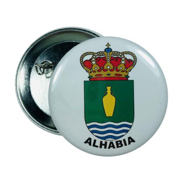 chapa escudo alhabia