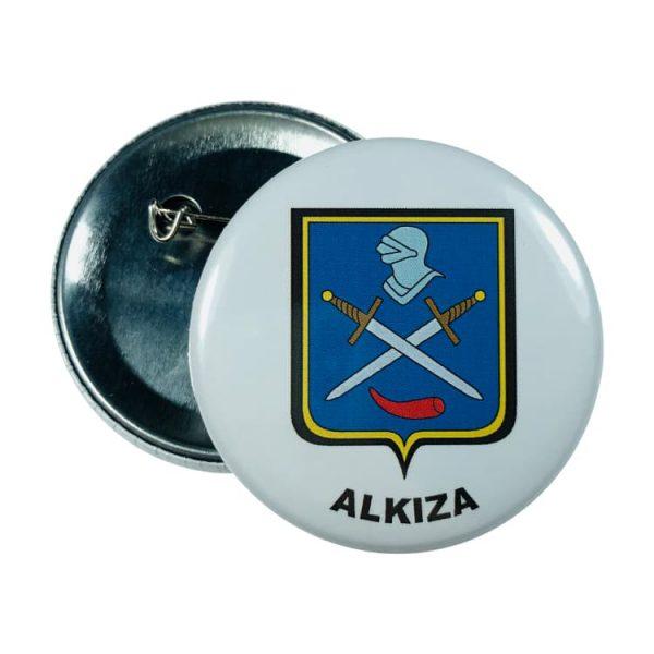 chapa escudo alkiza