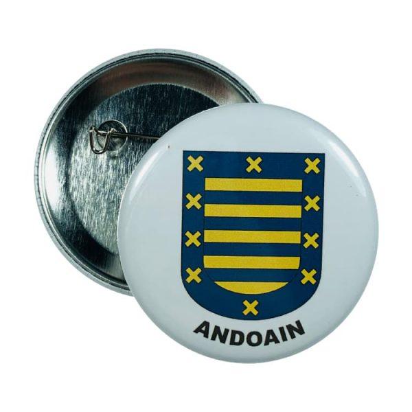 chapa escudo andoain