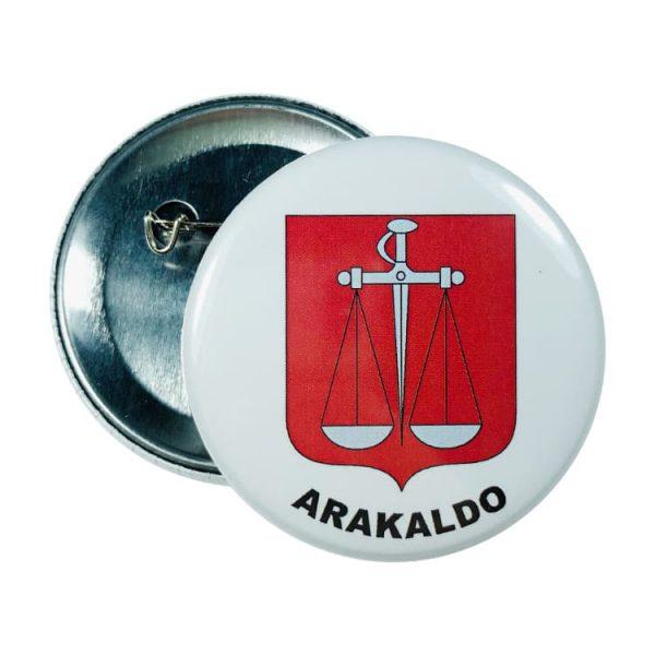 chapa escudo arakaldo