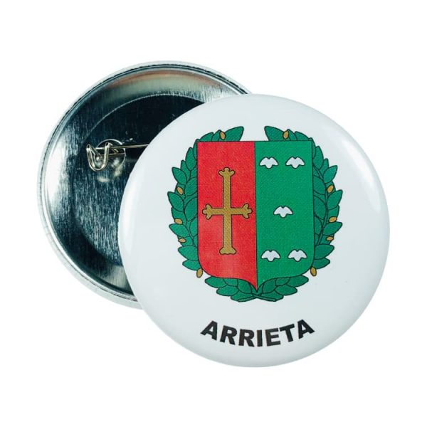chapa escudo arrieta
