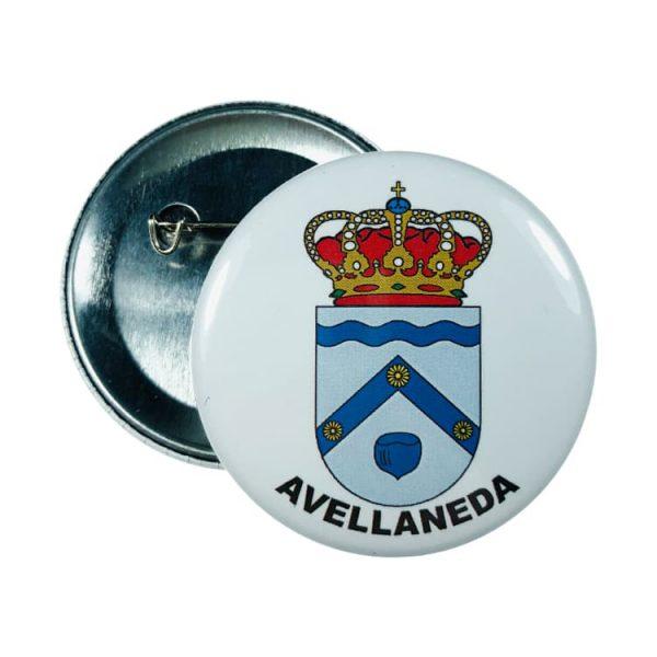 chapa escudo avellaneda
