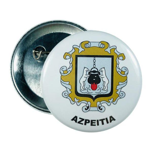 chapa escudo azpeitia