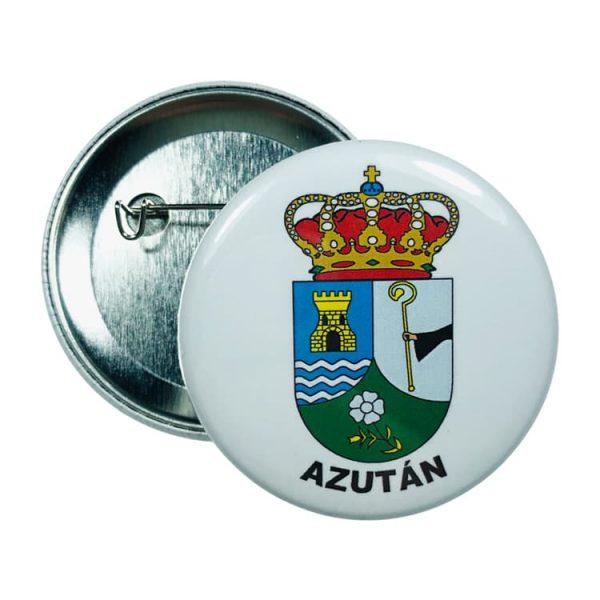 chapa escudo azutan