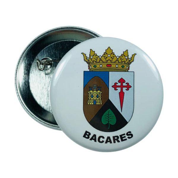 chapa escudo bacares