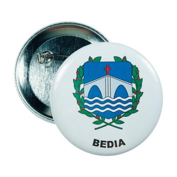 chapa escudo bedia
