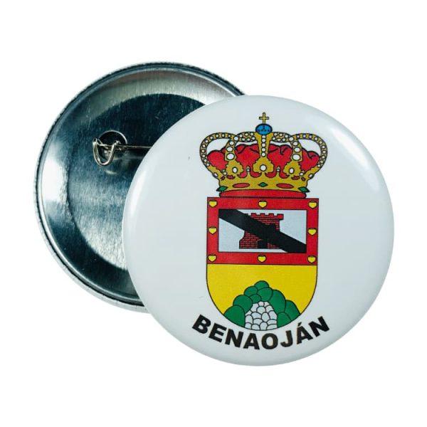chapa escudo benaojan