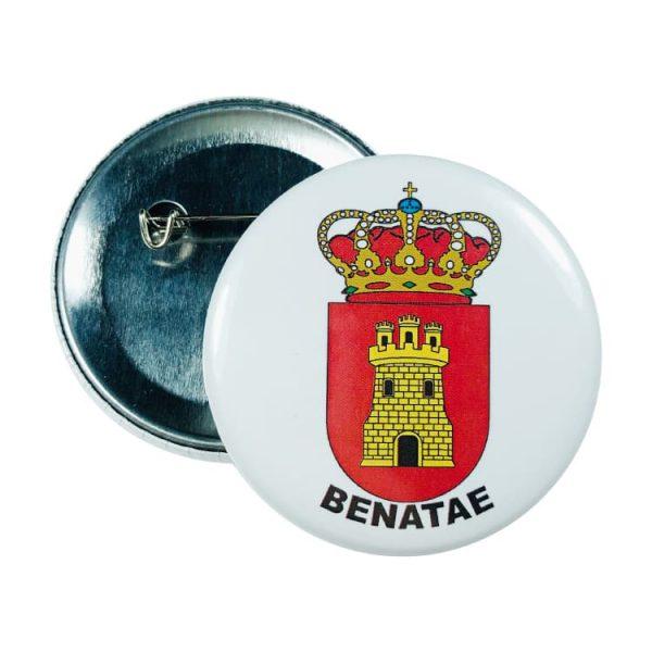 chapa escudo benatae