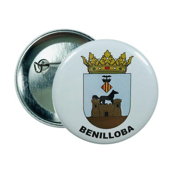 chapa escudo benilloba