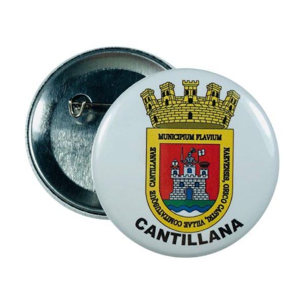 chapa escudo cantillana