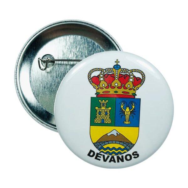 chapa escudo devanos