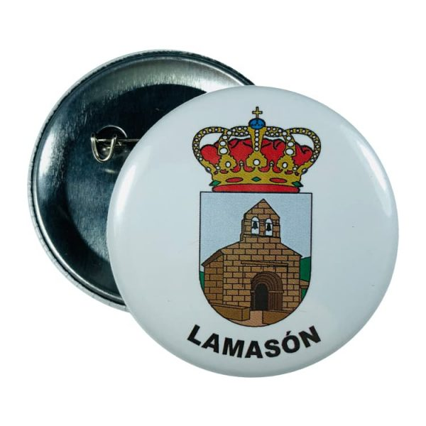 chapa escudo lamason
