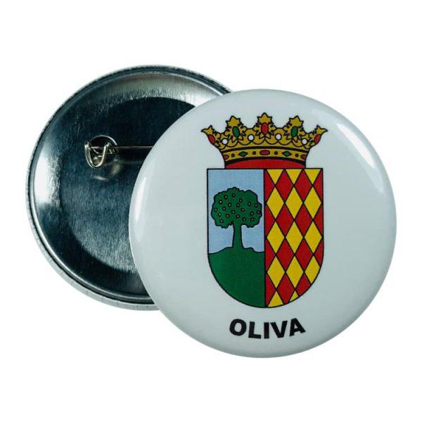 chapa escudo oliva