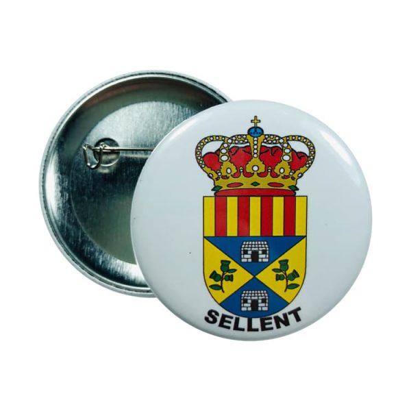 chapa escudo sellent