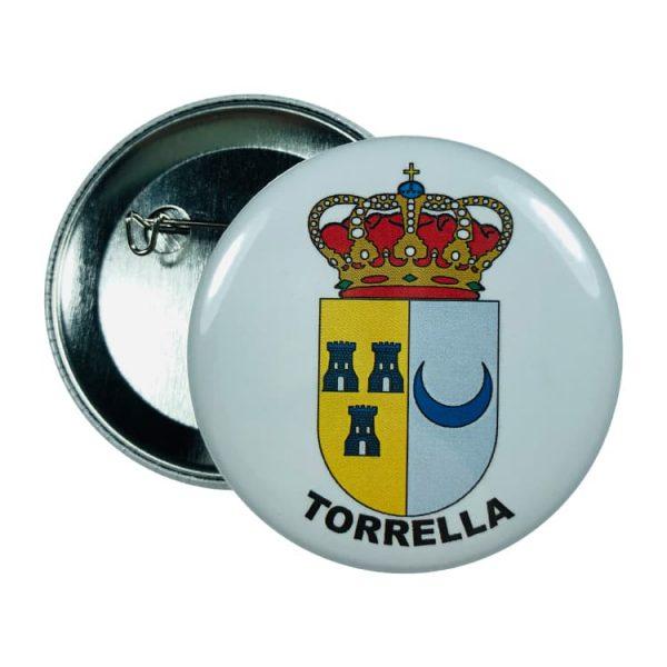 chapa escudo torrella