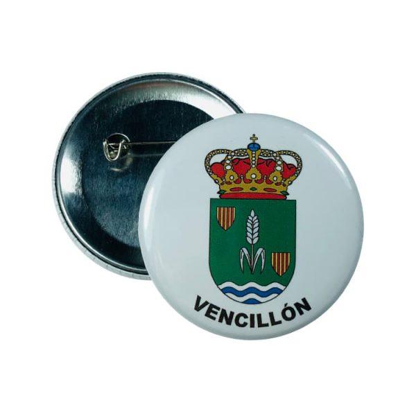 chapa escudo vencillon