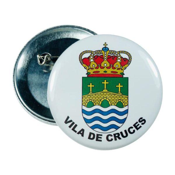 chapa escudo vila de cruces
