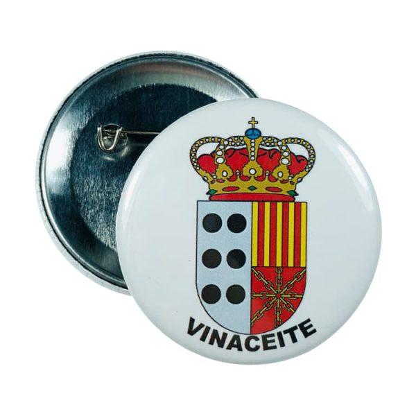 chapa escudo vinaceite