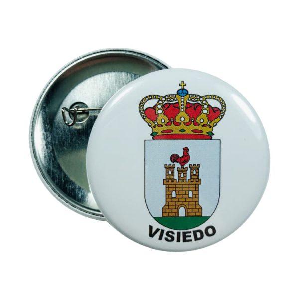 chapa escudo visiedo