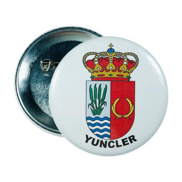 chapa escudo yuncler