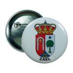 chapa escudo zael