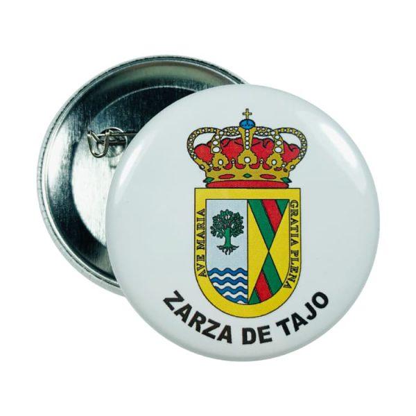 chapa escudo zarza de tajo