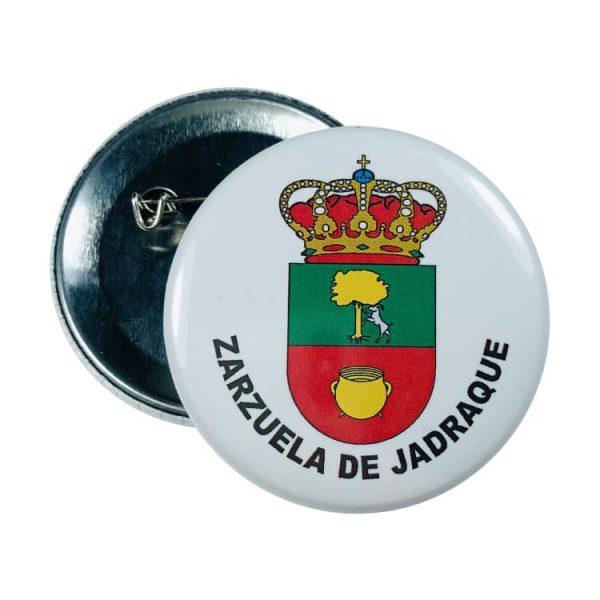 chapa escudo zarzuela de jadraque