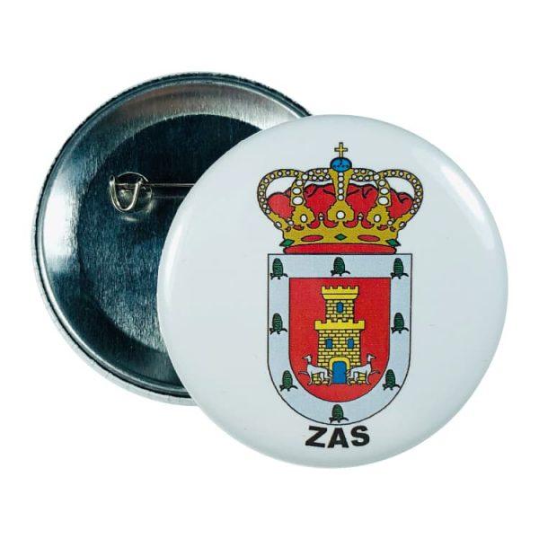 chapa escudo zas
