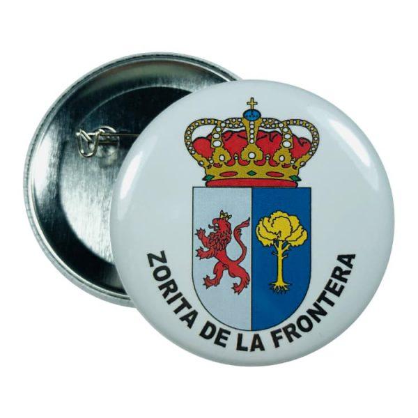 chapa escudo zorita de la frontera