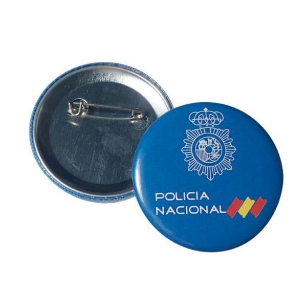 chapa policia nacional