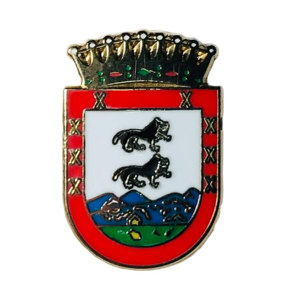 pin escudo abanto y zierbena vizcaya