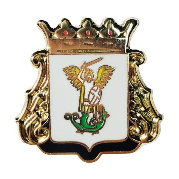 pin escudo aizarnazabal gipuzkoa