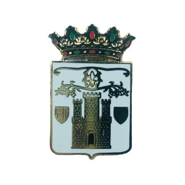 pin escudo anon de moncayo zaragoza