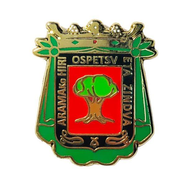 pin escudo arama gipuzkoa