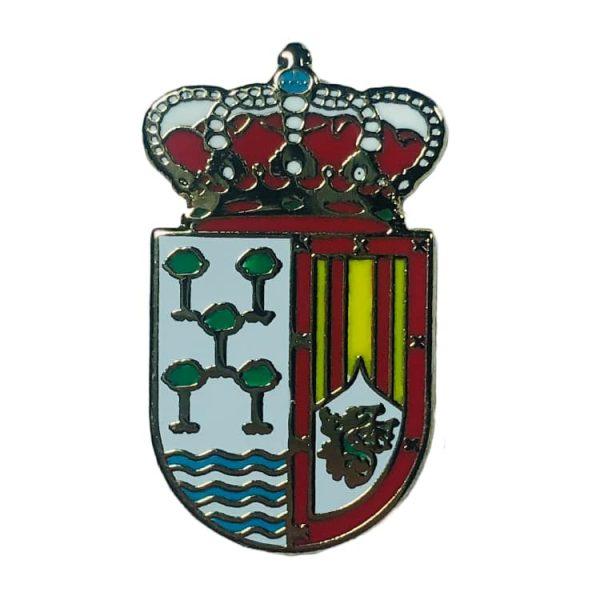 pin escudo arroyo de cuella segovia