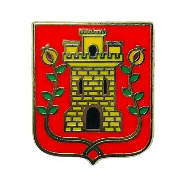 pin escudo azkoitia gipuzkoa