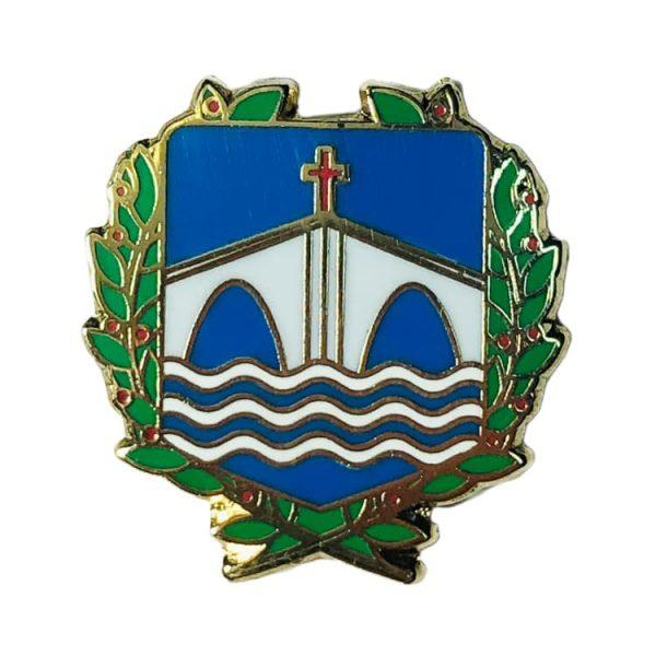 pin escudo bedia vizcaya