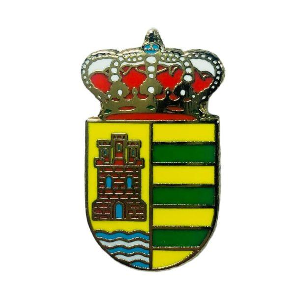 pin escudo malpica de tajo toledo