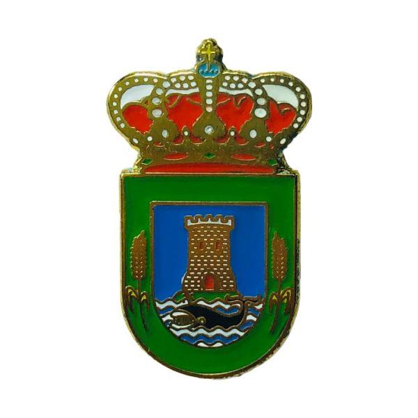 pin heraldico escudo a laracha la coruna