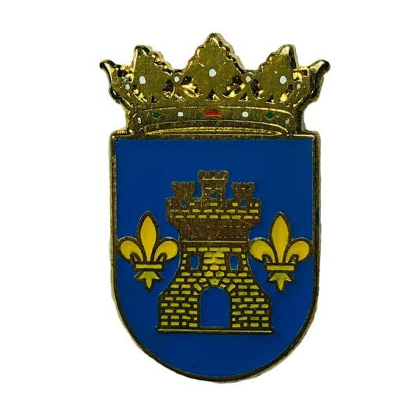 pin heraldico escudo abadin lugo