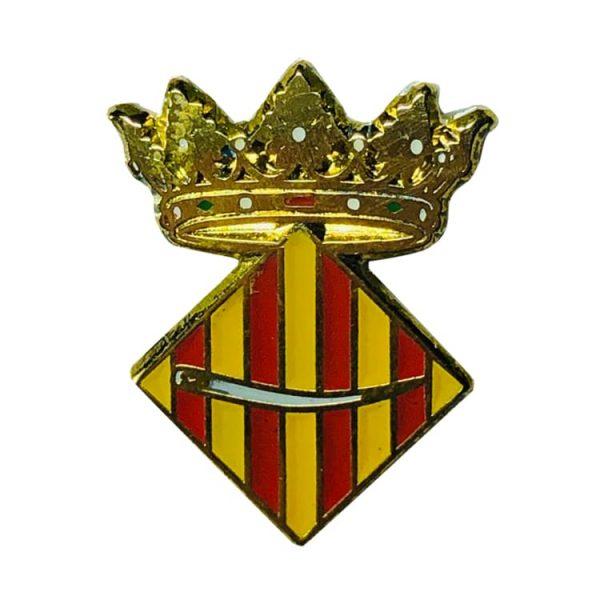 pin heraldico escudo agullent valencia