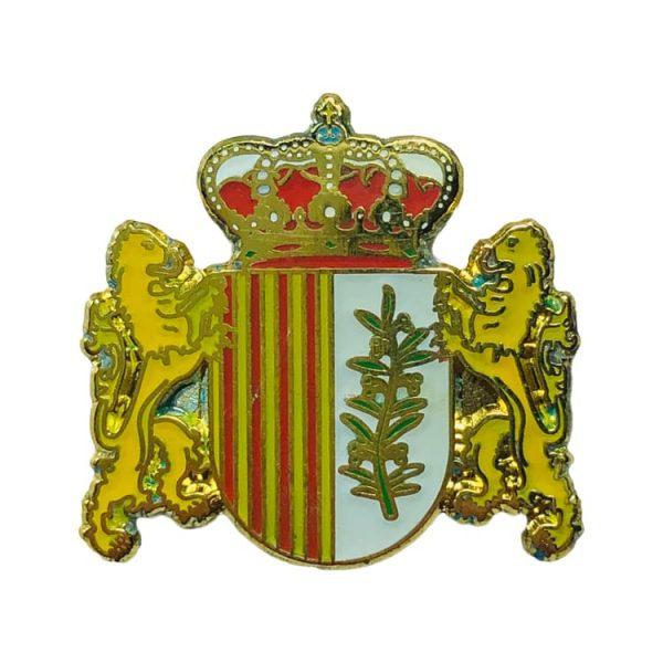 pin heraldico escudo albelda huesca